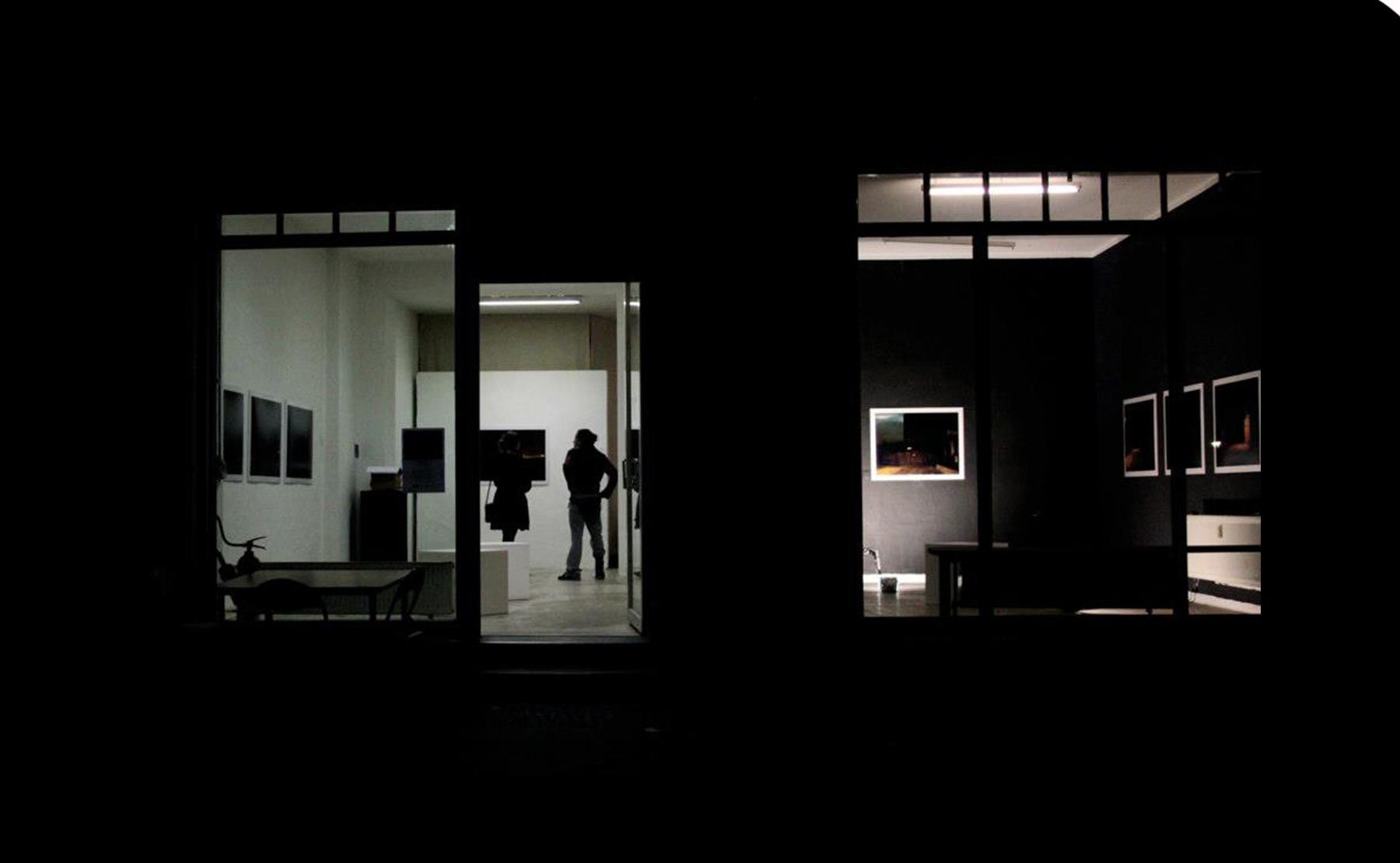 Under Cover of Darkness at The OKK Gallery Berlin